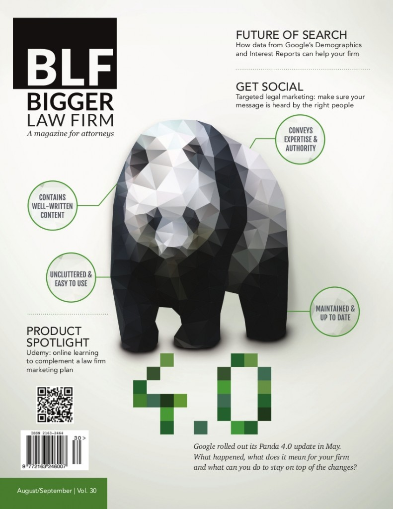 Google Panda 4.0 - The Guide for Lawyers