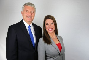 Attorneys Richard LaGarde and Mary LaGarde