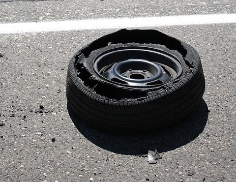 Florida Highway Patrol says tragic accident was caused by tire tread separation.