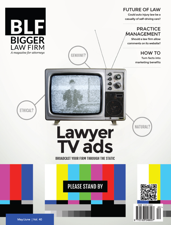 BLF Lawyer TV Advertising Issue