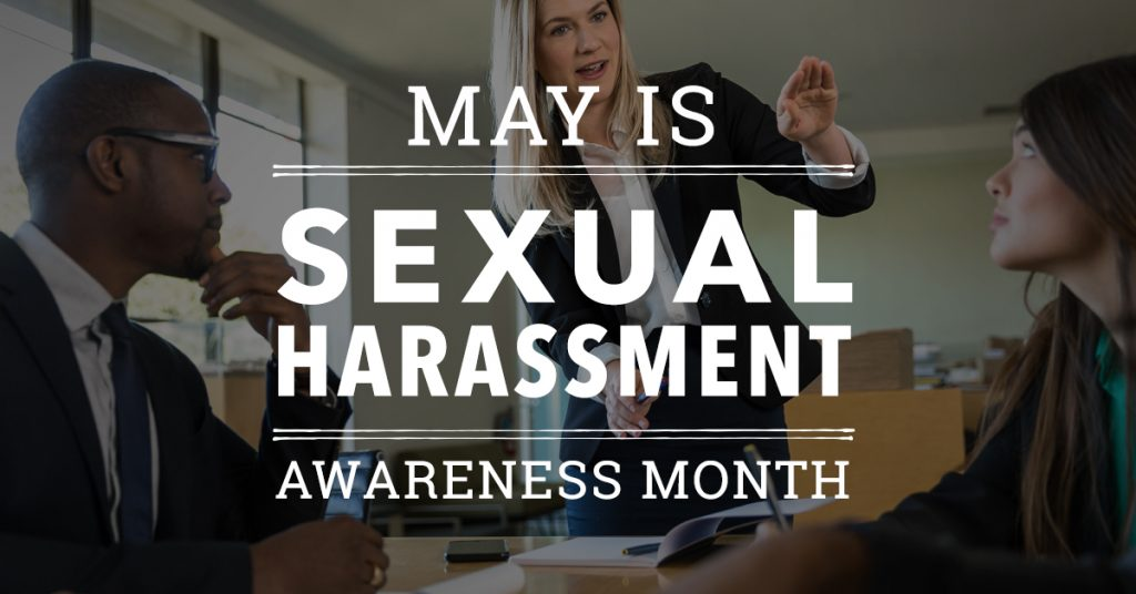 May is Sexual Harassment Awareness Month