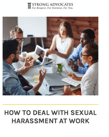How to deal with sexual harassment at work a free ebook law firm how to deal with sexual harassment at work a free ebook fandeluxe Choice Image