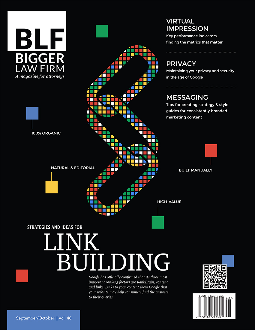 Download Link Building, the Latest Issue of Bigger Law Firm Magazine