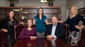 Attorneys Laurel A. Tesmer and O. Reginald Osenton and staff.