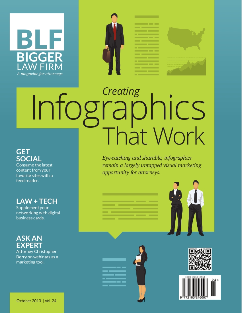 the bigger law firm magazine looks at infographics
