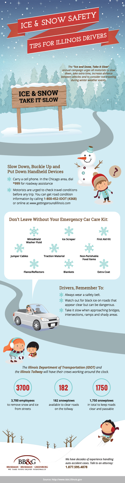 Briskman Briskman & Greenberg released this infographic and a safety video to help motorist stay safe this holiday season.