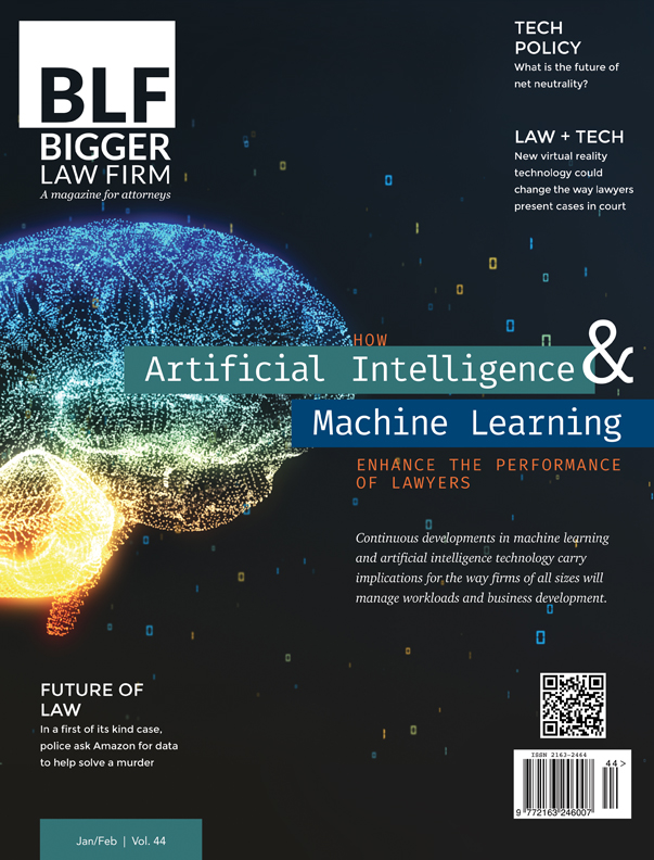 Bigger Law Firm Magazine: The Artificial Intelligence Issue